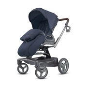 ΚΑΡΟΤΣΙ QUAD TITANIUM/BLACK COFFEE OXFORD BLUE INGLESINA Καρότσια