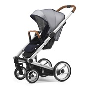 ΚΑΡΟΤΣΙ I2 PUSHCHAIR URBAN NOMAD WHITE&BLUE/ ΣΚΕΛΕΤΟΣ STANDARD MUTSY