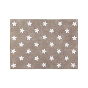 LORENA CANALS. ΧΑΛΙ ΔΩΜΑΤΙΟΥ ΚΑΦΕ ΑΣΤΕΡΙΑ ΛΕΥΚΑ, LINEN STARS WHI LORENA CANALS